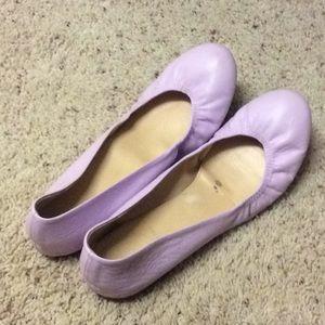 J Crew Pink Ballet Flats - 9.5